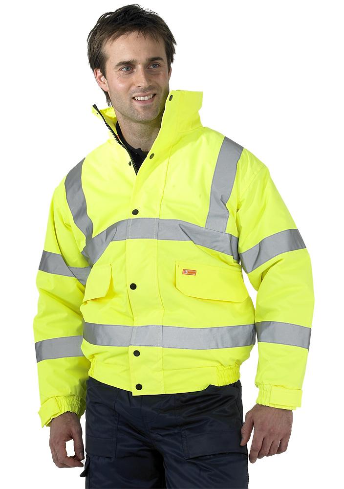 Hi Vis Bomber Jacket Workwear Shop Online