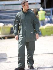 flexothane trousers and jacket